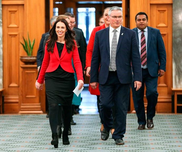 With new Labour deputy leader, Kelvin Davis