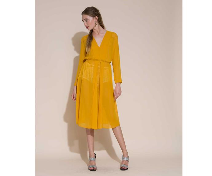 Dress by Ingrid Starnes.