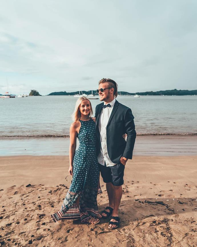 Since leaving *The Bachelor*, Dani did a stint in the UK and travelled around Europe - and along the way, found love with new beau Logan Dodds.