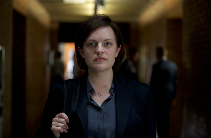 Elisabeth Moss in Top of the Lake