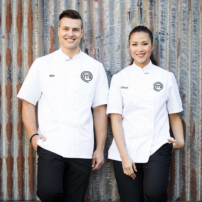 Diana Chan and Ben Ungermann from MasterChef Australia