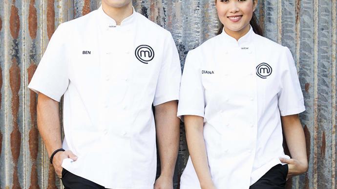 Diana Chan and Ben Ungermann from MasterChef Australia