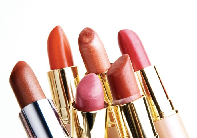 Test lippy by swiping one stroke on the pad of your fingertip – it needs to have the same blue-red undertones as your lips. Never apply more than one stroke as it won't look the same when you apply it to your lips.  **Rae Morris, celebrity make-up artist and author of six beauty books.**