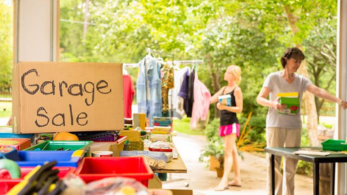 Selling unwanted items can bring in some extra cash when you need it most.