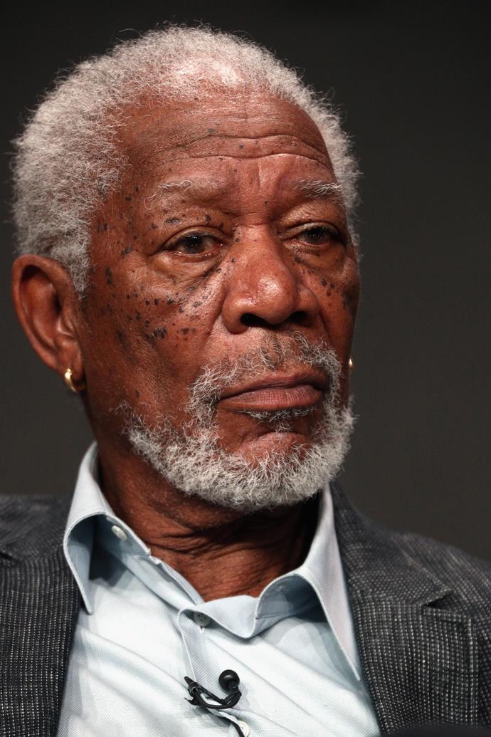 Morgan Freeman's name means bright sea.