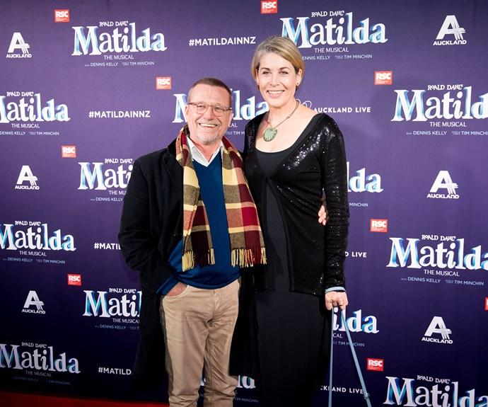 Michael Hurst and Jennifer Ward-Leyland