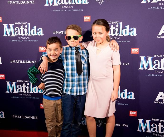Felix Martin, Ethan Harris, Tayla Kay