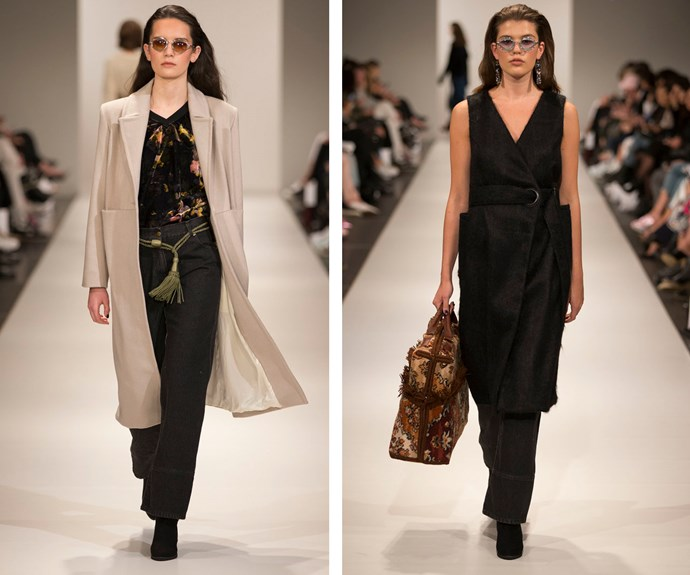 Images from Wynn Hamlyn's show at NZFW 2016.