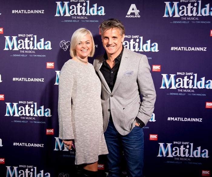 Shane Cortese and Nerida Cortese at Matilda the Musical