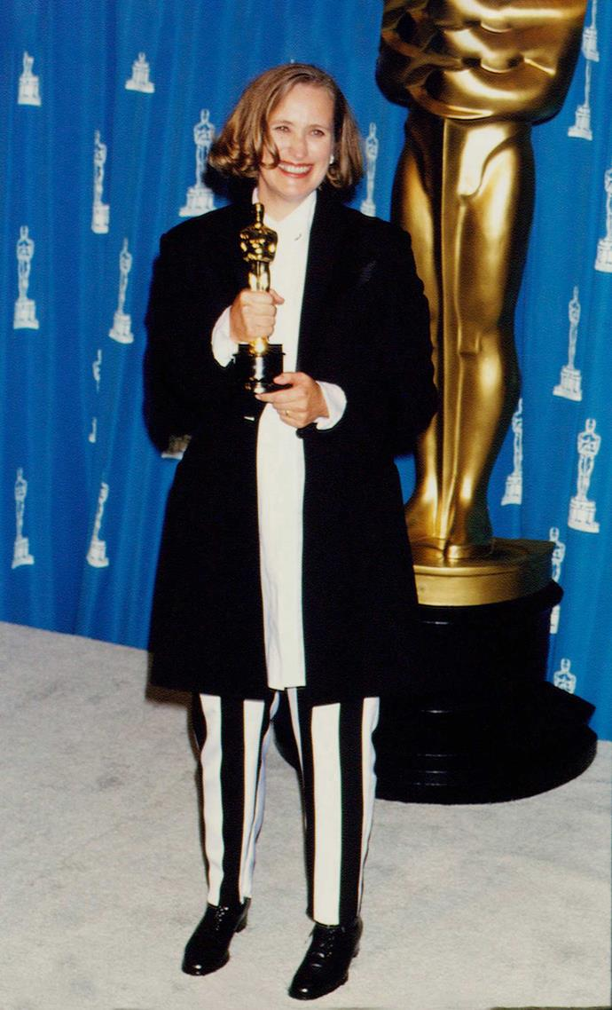 The Waikanae-born film talent was pregnant with Alice when she won the Best Original Screenplay Oscar in 1993.