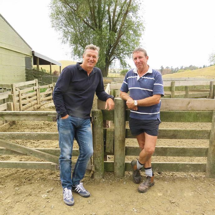 Mental health campaigner Sir John Kirwan (left) says he has never met a stronger person than Doug.