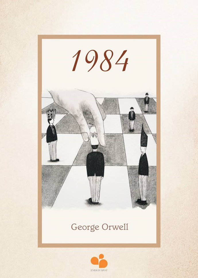 "[*1984* by George Orwell](https://www.goodreads.com/book/show/5470.1984|target=""_blank"") • Question everything. Learn to think critically and for yourself, and don't believe everything you are told."