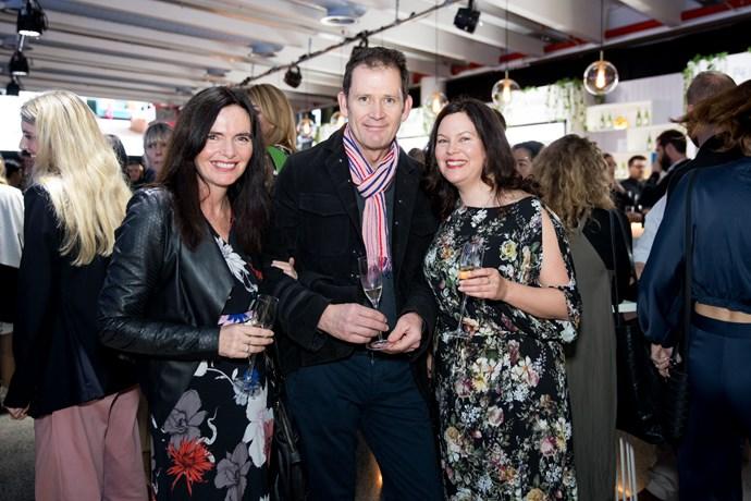 Andrea Moore, Brian Molloy, Carolyn Enting