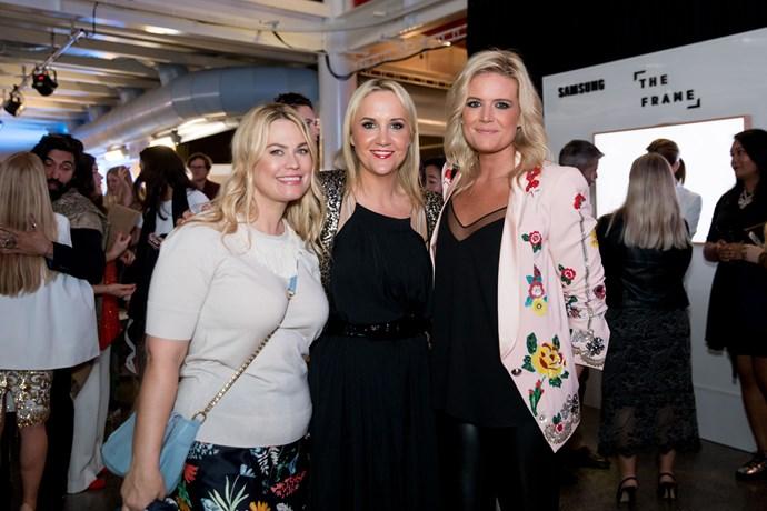 Kathryn Wilson, Nikki Kaye, Julia Leuchars