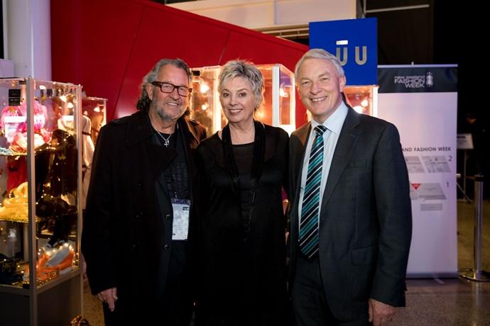 Neville Findlay, Peta Stuart, Phil Goff