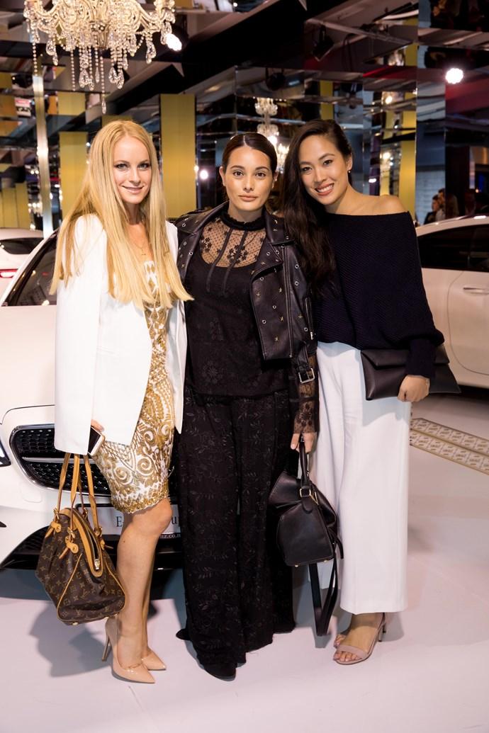 Michaiah Simmons-Villari, Ashleigh Allen, Trish Peng