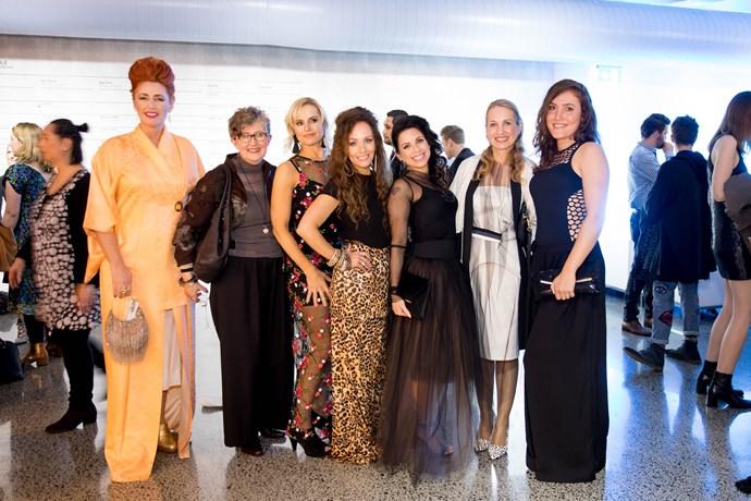 Fiona Tarlton, Lix Mitchell,Bridgette Jackson, Donna Balasoglou, Karin Horen, Megan Robinson, Kirsten Smedley