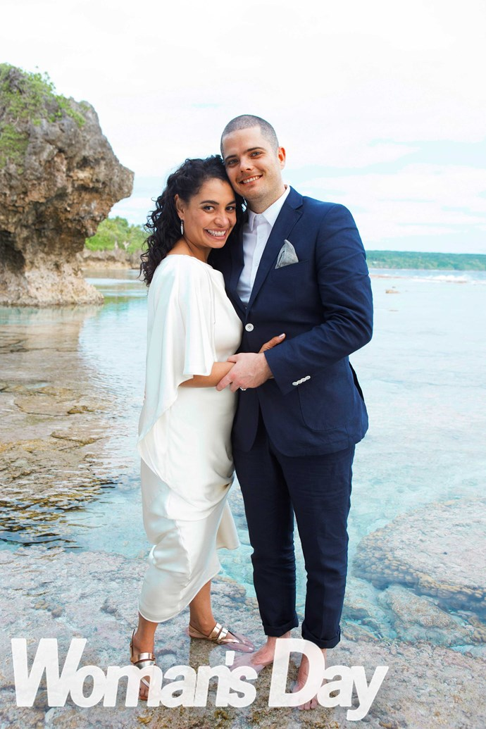 Nicole and Tom wed in Niue in 2014, weeks after finding out she was pregnant with Vida.