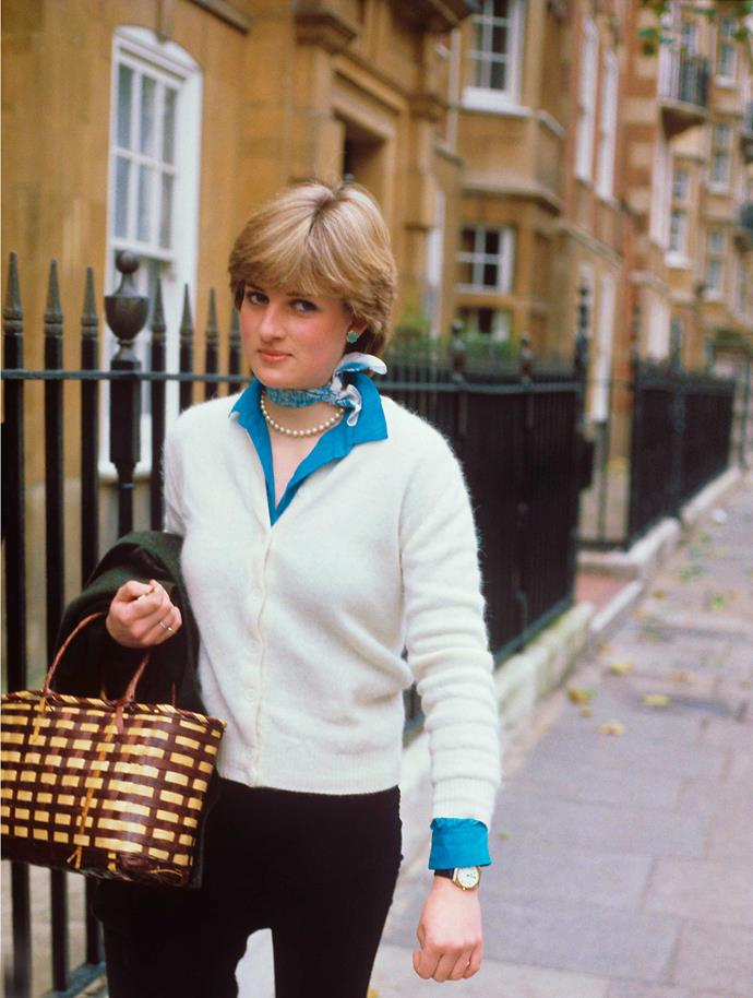 """Friends claim that Diana was besotted with the """"older and wiser"""" prince."""