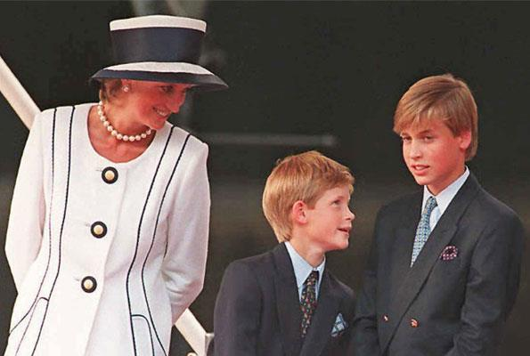 For Diana, her boys were the centre of her universe.