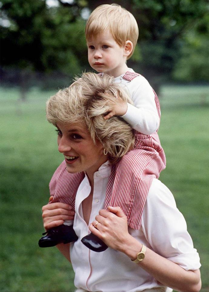 """Since Diana's death, Harry has vowed to continue her legacy. """"We will do everything we can to make sure she's never forgotten, and carry on all of the special gifts and such that she had and that she portrayed when she was alive. I hope that a lot of my mother's talents are shown in the work that I do."""""""
