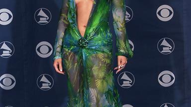 J Lo's green Versace dress makes a comeback