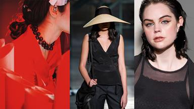 Stand-out accessories seen at New Zealand Fashion Week