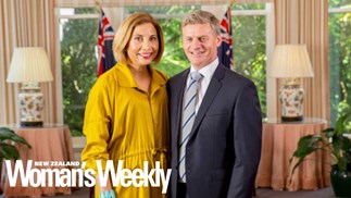 Bill English recalls the day he became a father