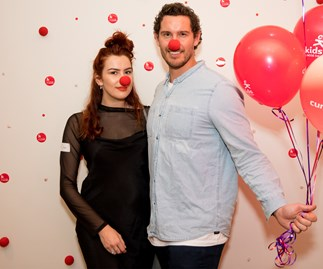Zac Franich and Viarni Bright, Red Nose Day appeal