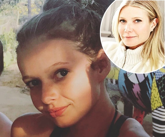 Gwyneth Paltrow shared this snap of lookalike daughter Apple on Instagram, to celebrate her 13th birthday.