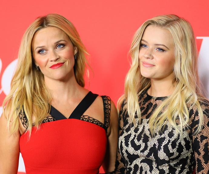 Reese Witherspoon and daughter Ava Elizabeth Phillippe attending the premiere of 'Home Again' in August 2017.