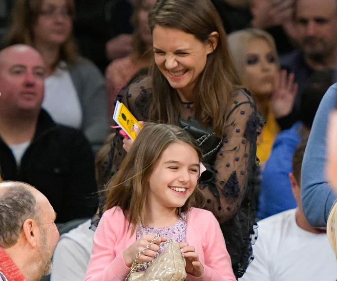 Little Suri Cruise looks like a carbon copy of her mum Katie Holmes!