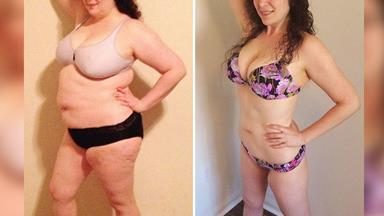 Woman loses 38 kilos by only eating fruit