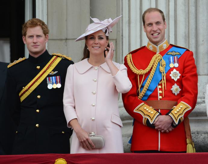 That same month, Kate wowed in a pale pink coat-dress for the annual Trooping the Colour parade.