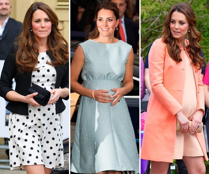 Kate Middleton pregnancy style