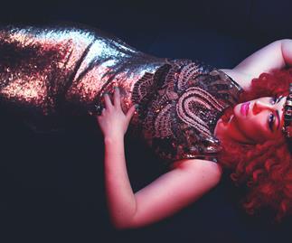 Miss Frisky of the International Cabaret Season