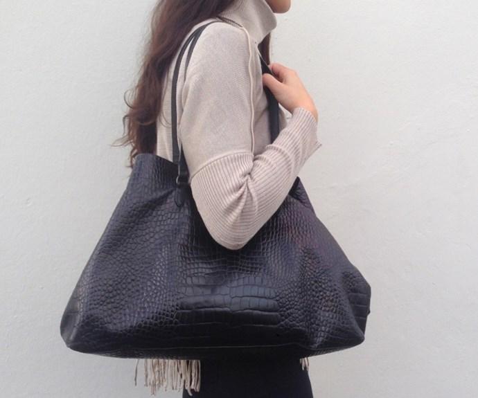 A Dries van Noten handbag spotted on Encore Designer Recycle's Instagram @encorerecycle.