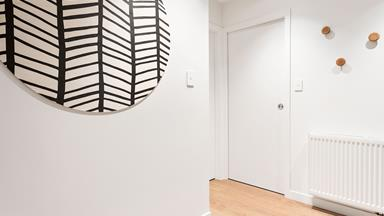 The Block NZ: Entrance, Stairs and Powder Room reveal