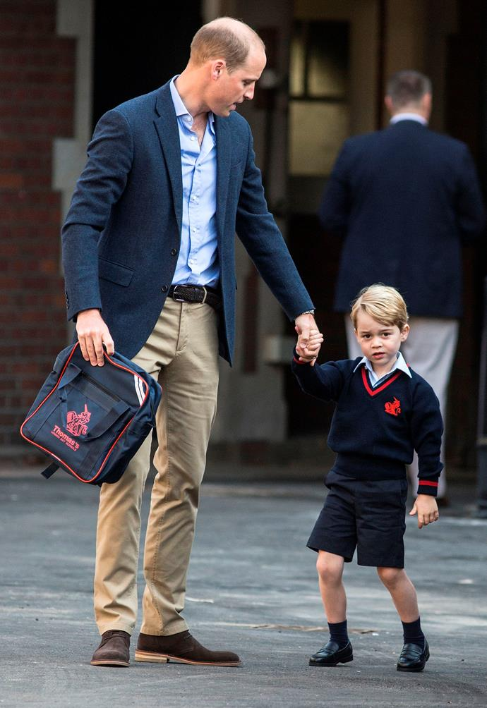 How time flies! It seems like just yesterday the world eagerly awaited the arrival of Prince George, but this year, the royal attended his very first day at school at Thomas's Battersea.