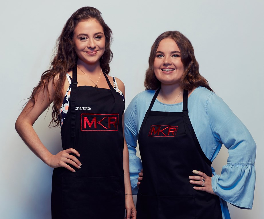 MKR's youngest under pressure in the kitchen