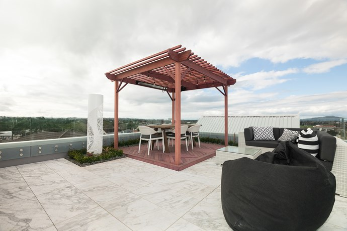 **Andy and Nate's rooftop terrace**