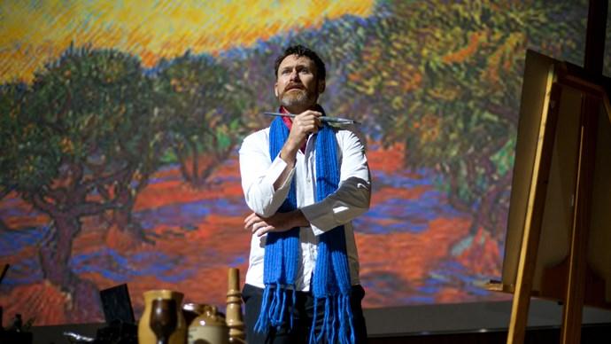 Vincent at the Hawke's Bay Arts Festival