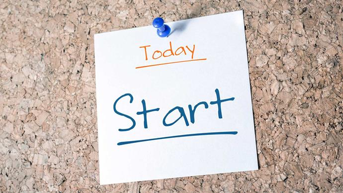 **Start training today** It's good to take a steady and sensible approach to training, but don't let that turn into procrastination and put off training. If you really want to complete 10k in the next six weeks or more, then start with a gentle jog today! That will give you a steer on how fit you are at the moment and which training plans you should use.
