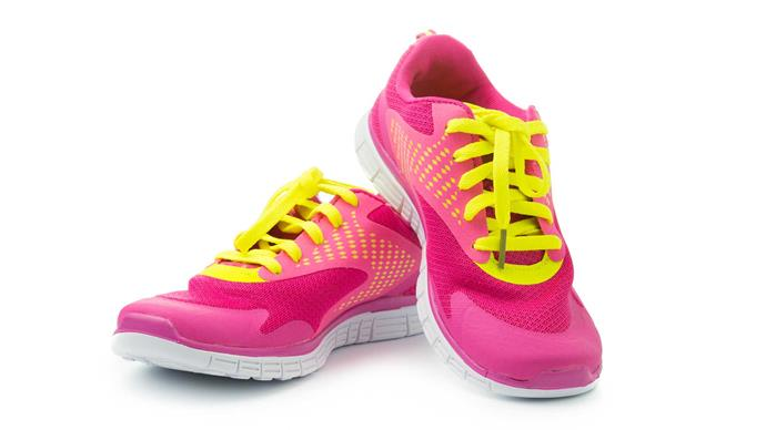 **Sort out your kit early** Make sure you have the right shoes and sports bra before you start training – you can sort out the rest of the outfit later (that's the fun bit!). To buy your first pair of running shoes, visit a specialist shop to have your running style analysed and your shoes fitted properly. Don't assume you know your bra size, either – again, the best thing to do is visit a shop and get measured up. Ifyou're running your 10k for charity and wearing a branded t-shirt or vest, make sure you give it a try out before race day so you can check for any chafing points!