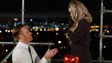 Block star's surprise proposal