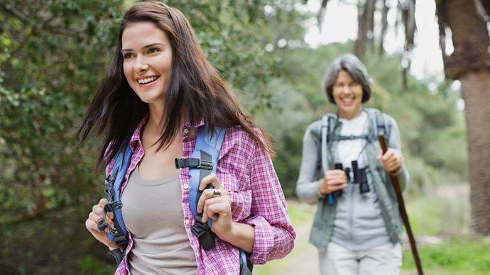 Should parents go backpacking with their teenagers?