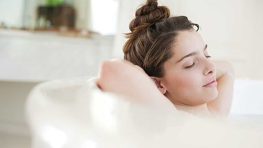 The health benefits of bubble baths