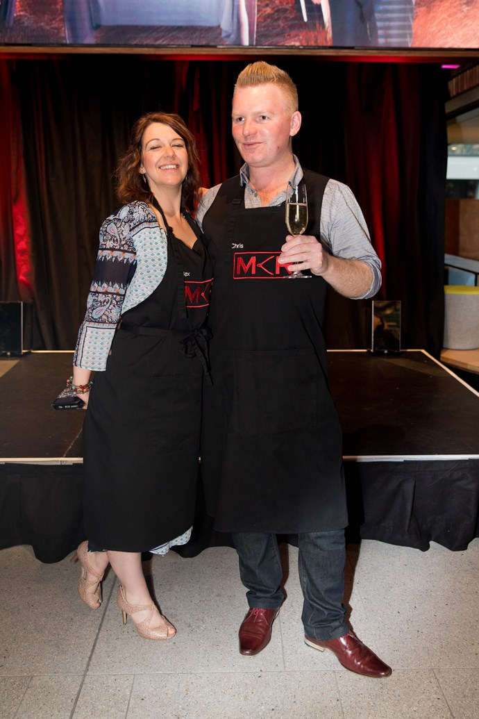 Contestants Bex and Chris from Wanaka.