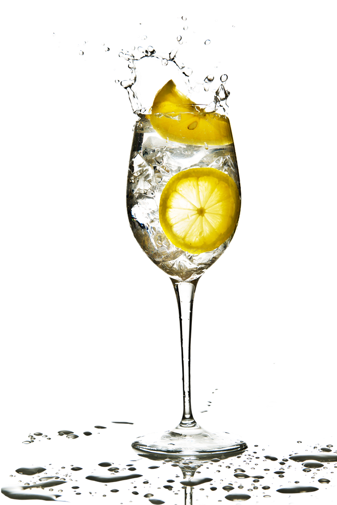 **Swap your wine out** Swap your usual glass of evening wine for sparkling water with a squeeze of fresh lemon. Alcohol affects our ability to sleep and has no nutritional benefits – just extra calories! Ensure through your week you are having more alcohol-free days than alcohol days. Balance is key.