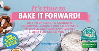 It's time to Bake It Forward!